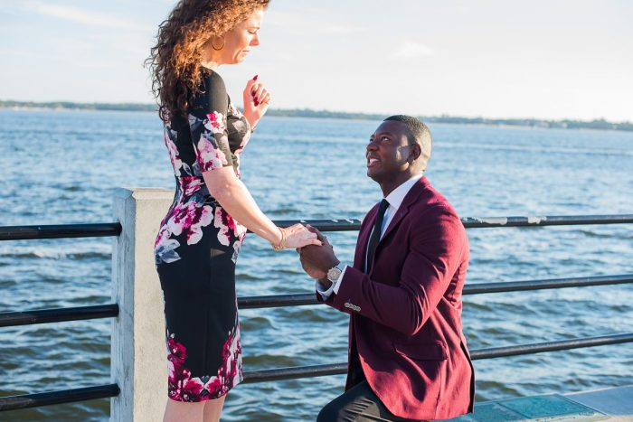 Wedding Proposal Ideas in Charleston, SC (White Point Gardens - The Battery)