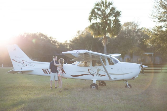 Cristine and Jesse James's Engagement in Worthington Springs Private Airport