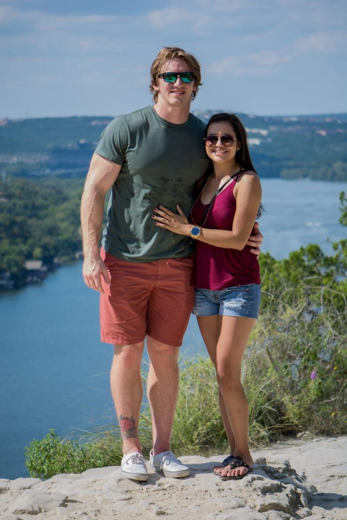 Where to Propose in Mt. Bonnell, Austin Texas