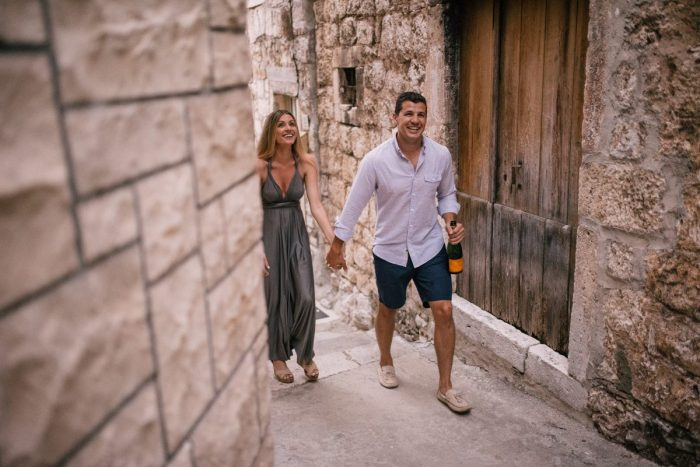 Engagement Proposal Ideas in Hvar, Croatia