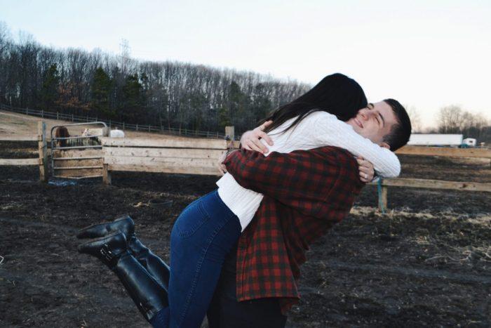 Beatriz and Lorenzo's Engagement in Farm