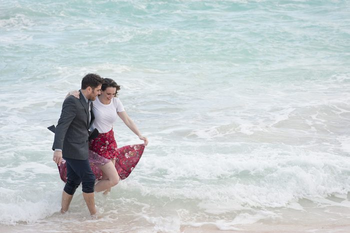 Bride and Josh's Engagement in Jobson's Cove, Bermuda