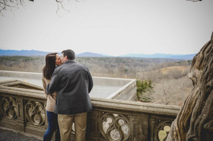 Breana and John's Engagement in The Biltmore Estate