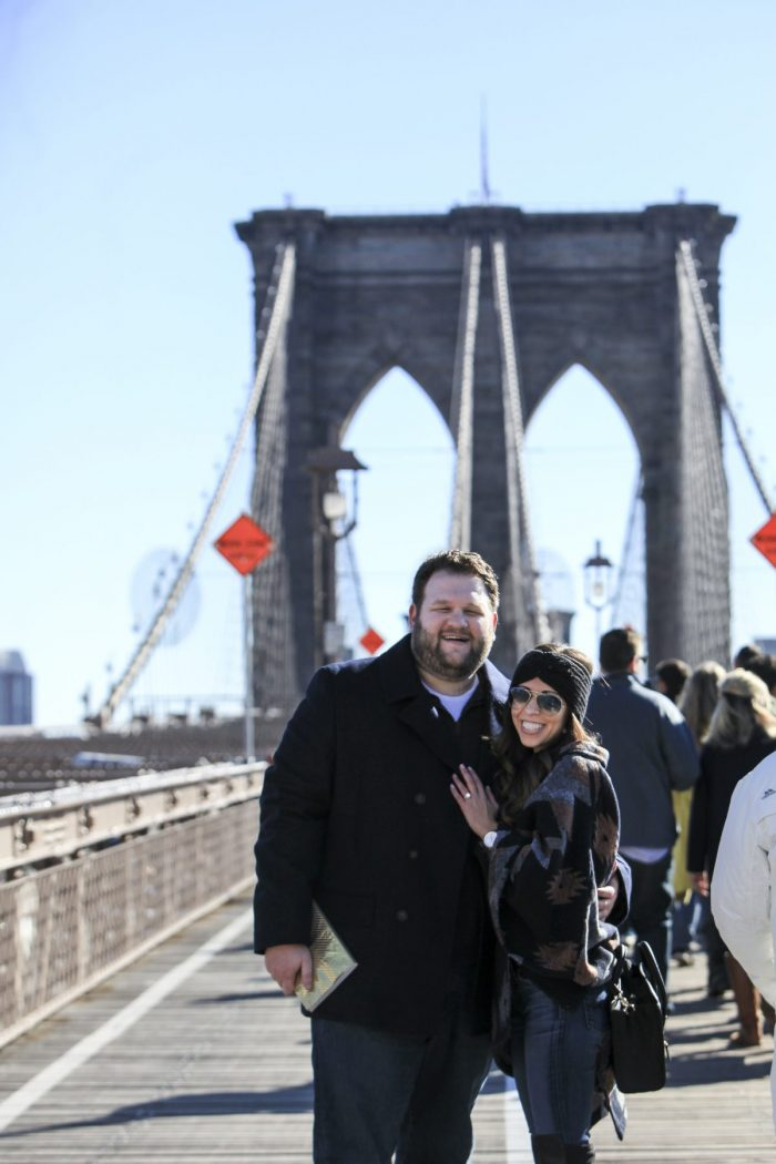 Where to Propose in The Brooklyn Bridge