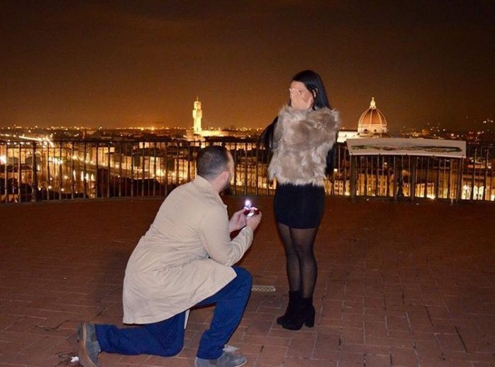 Marriage Proposal Ideas in Florence, Italy