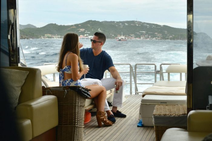 Suzanna and Alex's Engagement in St.Barths