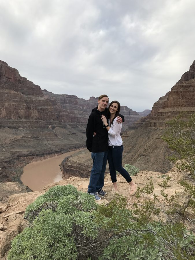 Dana's Proposal in The Grand Canyon