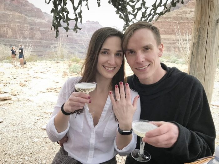 Wedding Proposal Ideas in The Grand Canyon