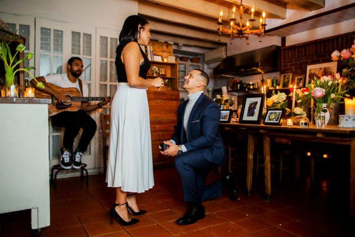 Wedding Proposal Ideas in Palma Restaurant, NYC