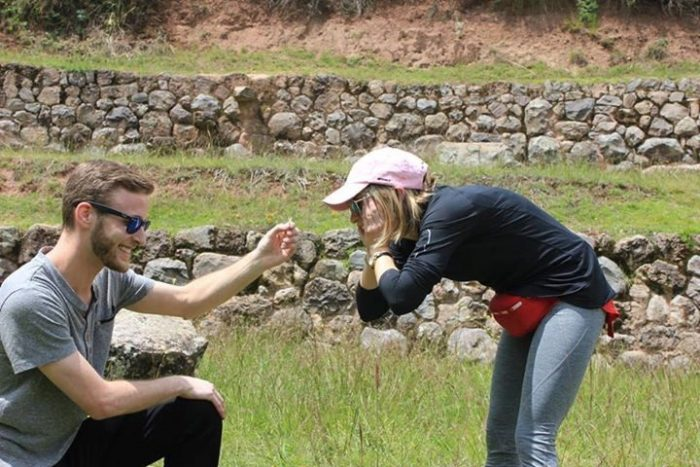 Where to Propose in Maras, Peru at the Moray archeological site