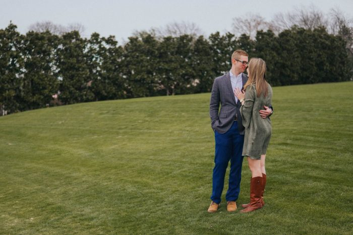 Bailey and Tyler's Engagement in The Dallas Arboretum and Botanical Gardens