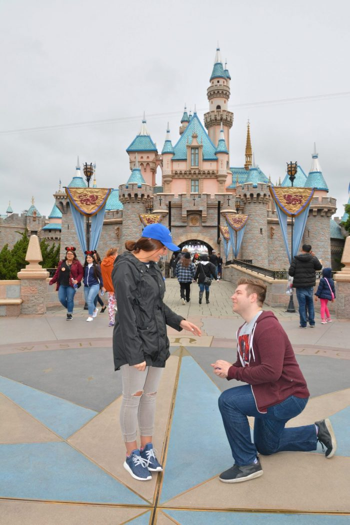 Bethany's Proposal in Disney land!
