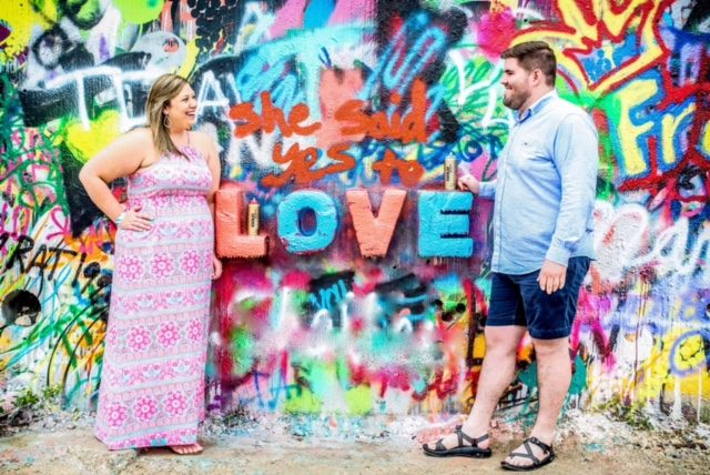 Meghan and Dustin's Engagement in HOPE Outdoor Gallery