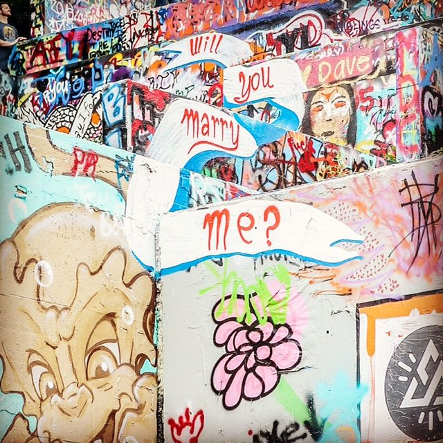 Marriage Proposal Ideas in HOPE Outdoor Gallery