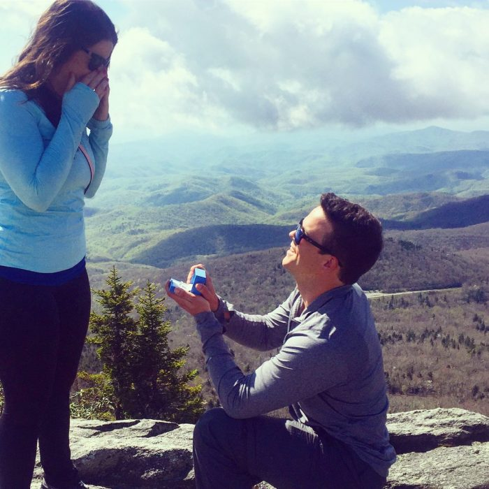 Marriage Proposal Ideas in Grandfather Mountain North Carolima