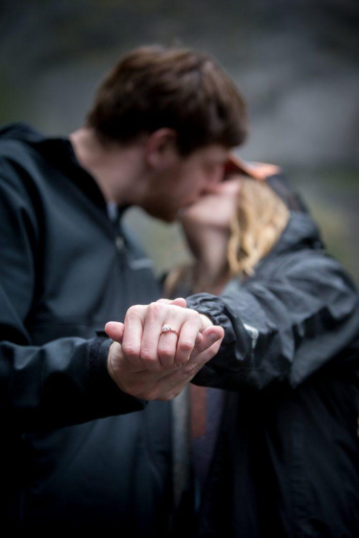 Wedding Proposal Ideas in Multnomah Falls