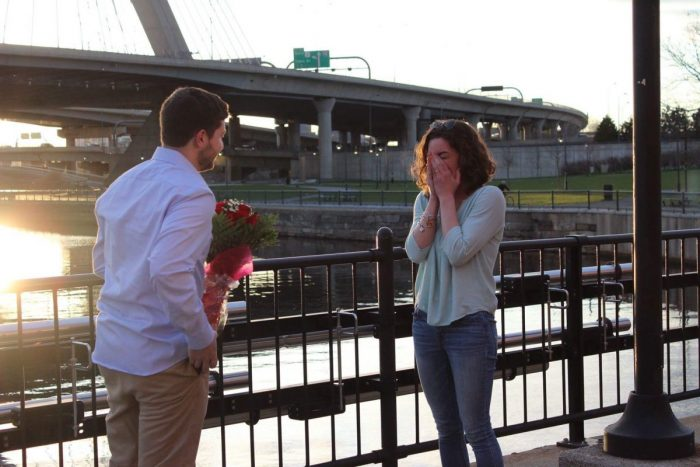 Marriage Proposal Ideas in Paul Revere Park   Charlestown, MA