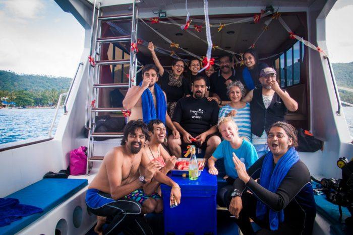 Marriage Proposal Ideas in Underwater, Koh Tao, Thailand
