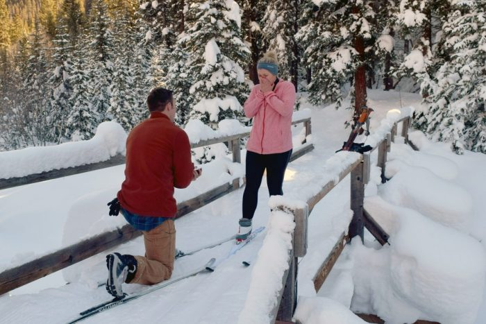AshLeigh's Proposal in Ouray, Colorado