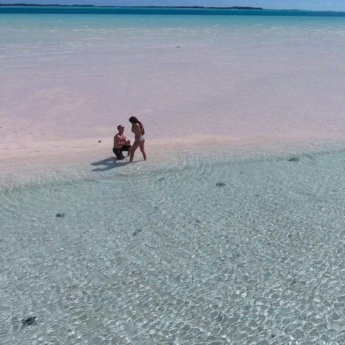 Wedding Proposal Ideas in Bahamas