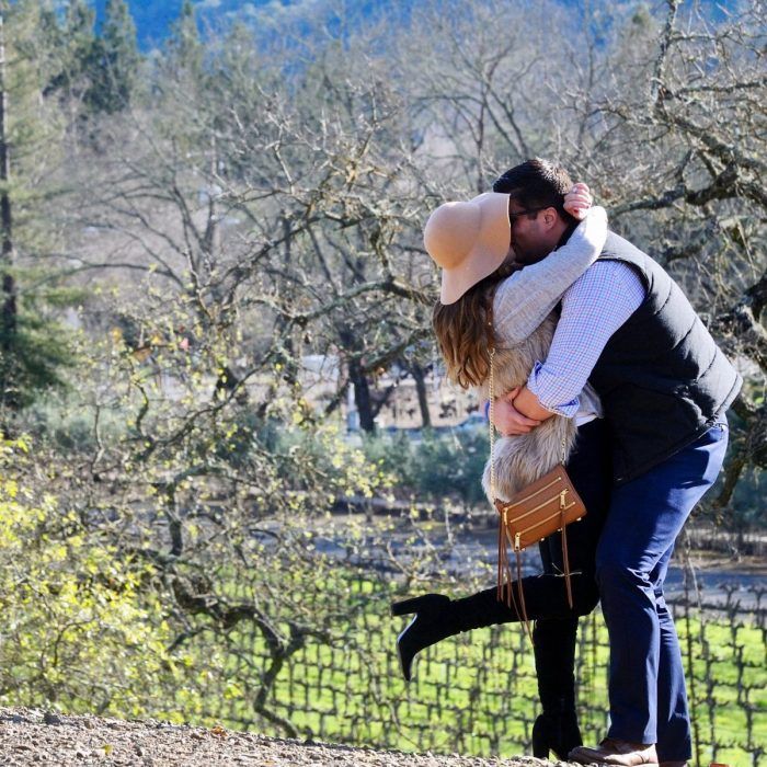 Beccah's Proposal in Napa valley, CA