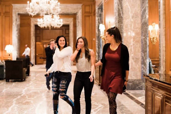 Engagement Proposal Ideas in The Grand America Hotel
