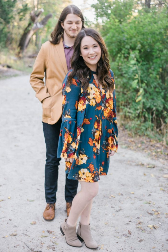 Jessica and Justin's Engagement in Cedar Hill State Park