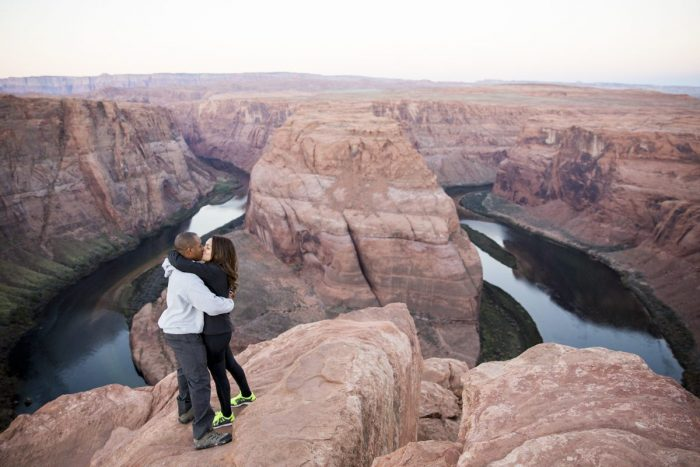 Where to Propose in Horseshoe Bend, Page, AZ