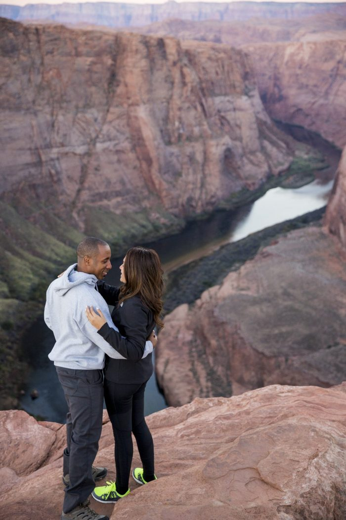 Engagement Proposal Ideas in Horseshoe Bend, Page, AZ