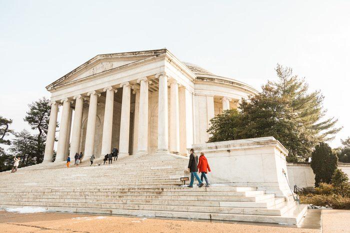 Engagement Proposal Ideas in Thomas Jefferson Memorial, Washington, DC