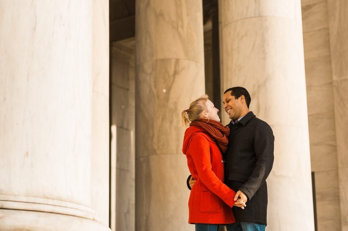 Where to Propose in Thomas Jefferson Memorial, Washington, DC