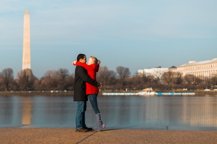 Shannon's Proposal in Thomas Jefferson Memorial, Washington, DC