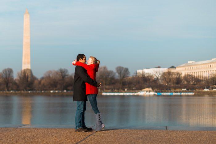 Shannon's Proposal in Thomas Jefferson Memorial, Washington, DC