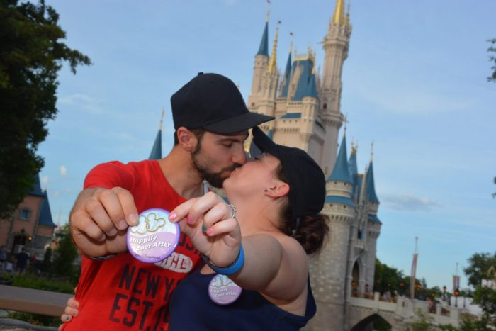 Wedding Proposal Ideas in Magic Kingdom in Disney Orlando