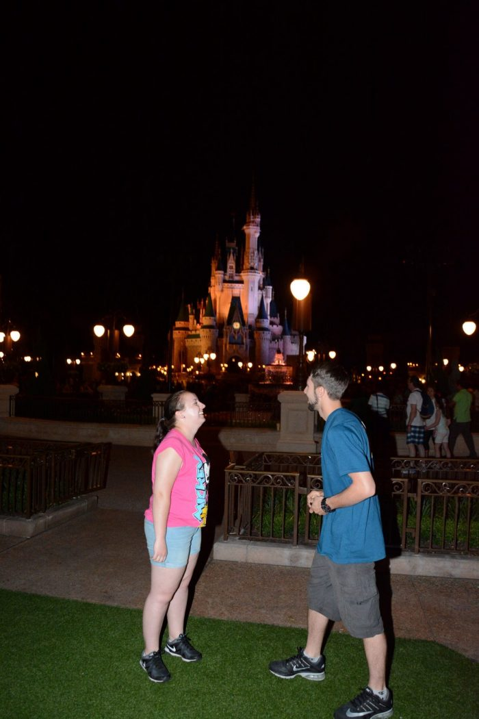 Engagement Proposal Ideas in Magic Kingdom in Disney Orlando