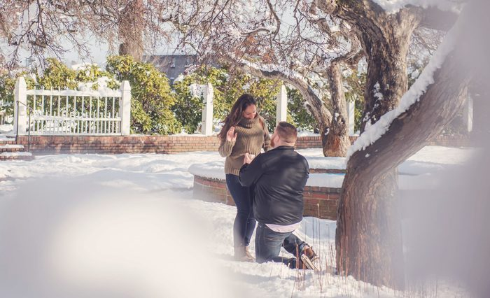 Marriage Proposal Ideas in Prescott Park, New Hampshire