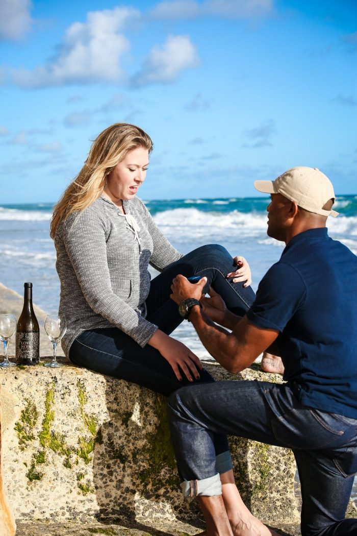 Wedding Proposal Ideas in On a beach in Jupiter, Florida