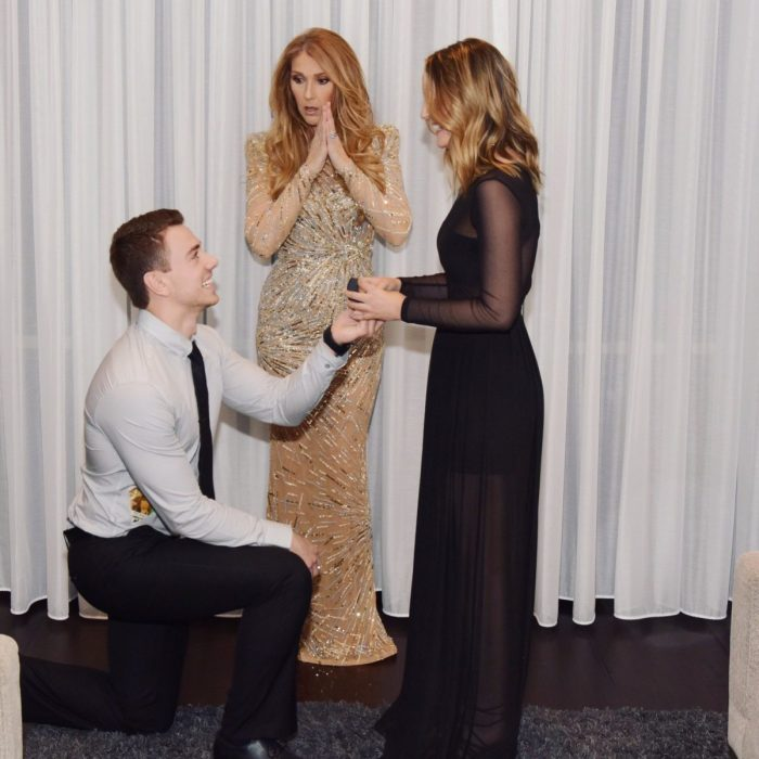Celine Dion Marriage Proposal