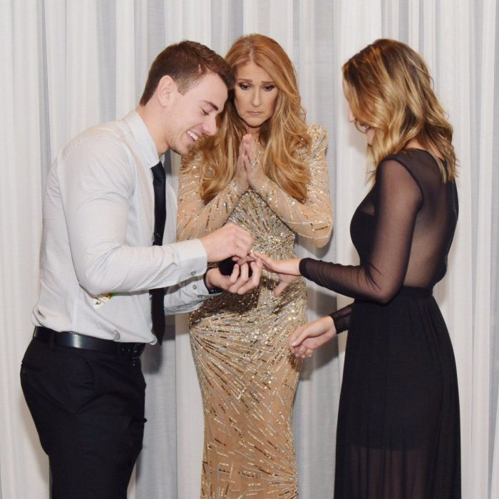 Image 3 of Céline Dion Photobombs Marriage Proposal