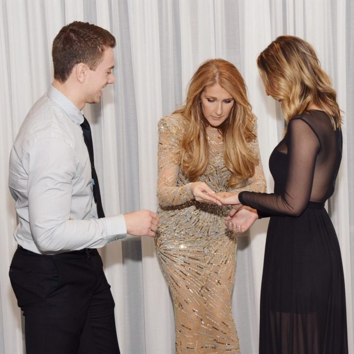 Image 4 of Céline Dion Photobombs Marriage Proposal