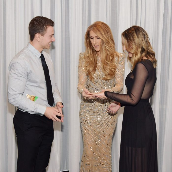 Image 5 of Céline Dion Photobombs Marriage Proposal