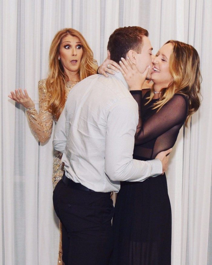 Image 6 of Céline Dion Photobombs Marriage Proposal