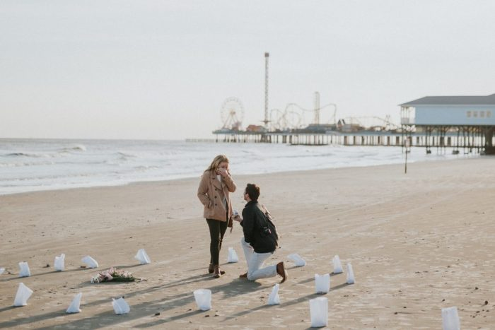 Paige's Proposal in Galveston, Texas