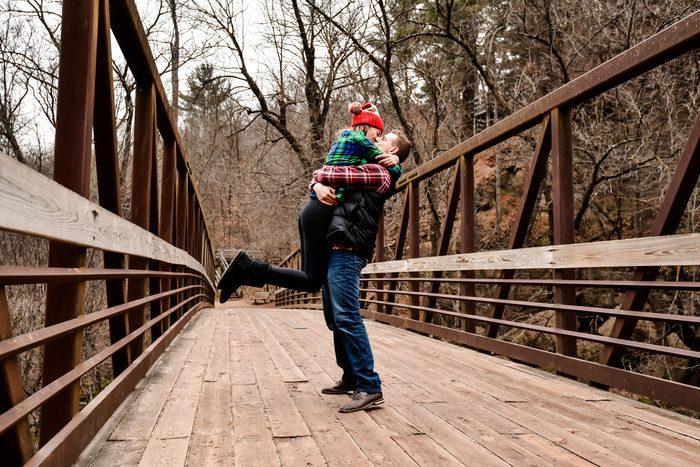 Marriage Proposal Ideas in Waterfall in Wisconsin