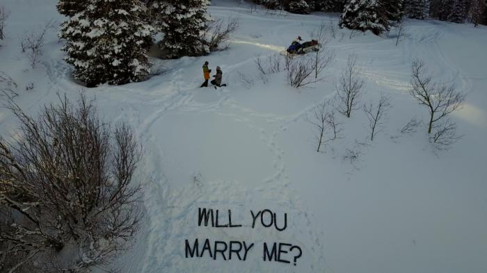 Marriage Proposal Ideas in Palisades, Idaho
