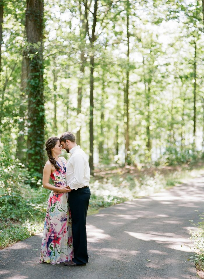 Tate and Brian's Engagement in Freedom Park, Charlotte, NC