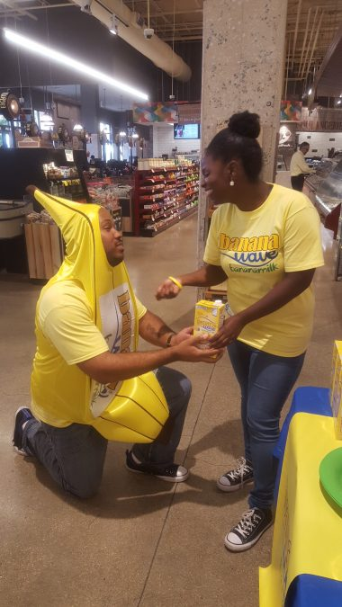 Marriage Proposal Ideas in Whole Foods Market Downtown Miami