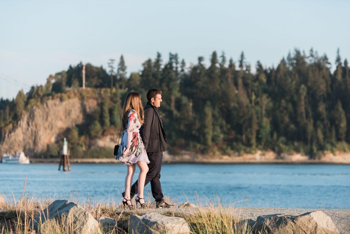 Wedding Proposal Ideas in Ambleside Beach, Vancouver