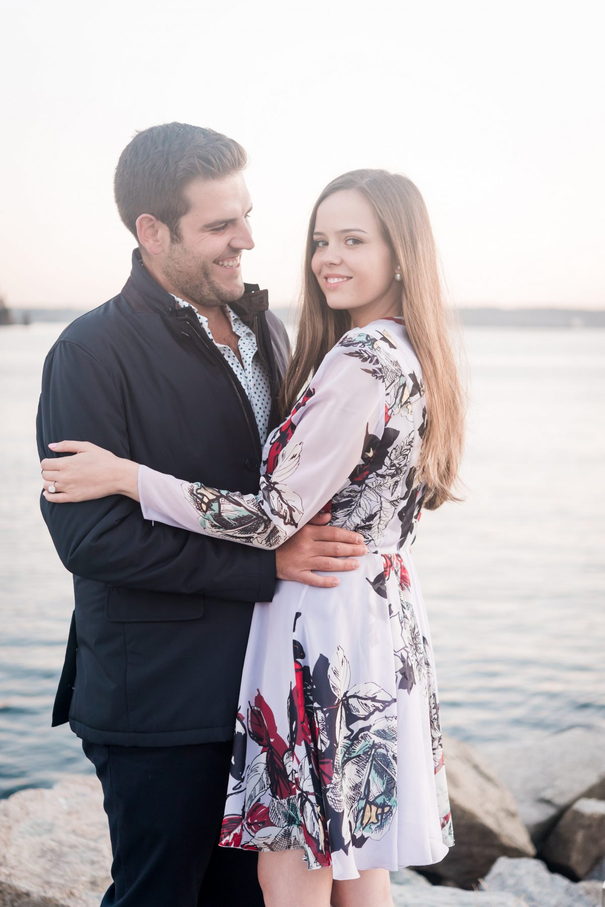 Estefi and Jose's Engagement in Ambleside Beach, Vancouver