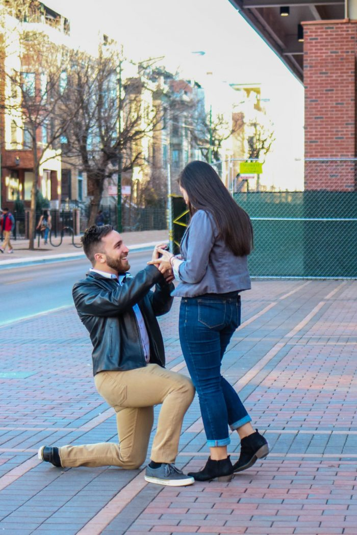 Engagement Proposal Ideas in Wrigley Field